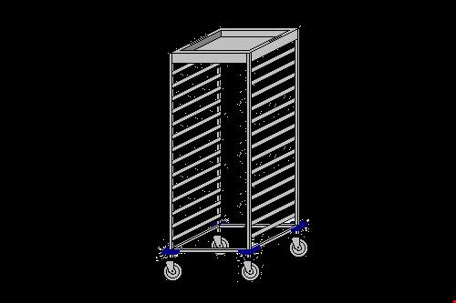 ATK-Kirli Tepsi Toplama Arabası
